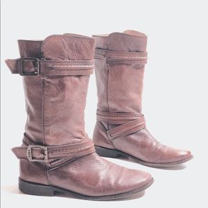 Frye 'Paige Trapunto' Leather Boots